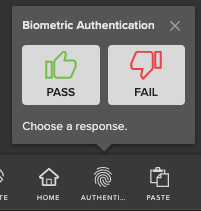 Face ID/Touch ID (Biometric Authentication) in Live Mobile